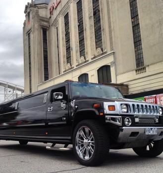 Black Stretch Hummer Limousines